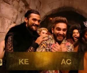 Kendji Girac sacré pendant La chanson de l'année fête la musique, le 20 juin 2015 sur TF1