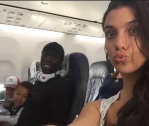 Ludivine Sagna et Bacary en vacances avec leur fils au Portugal