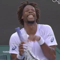 Gaël Monfils : énorme fou-rire en plein match à Wimbledon