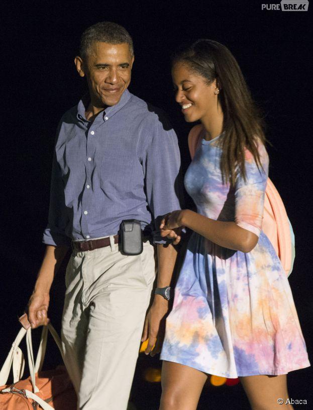 Malia Obama : la fille du Président Barack Obama fait un stage sur le tournage de la série Girls avec Lena Dunham