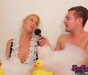 Aurélie Van Daelen enceinte : confidences sur sa grossesse dans le bain de Jeremstar