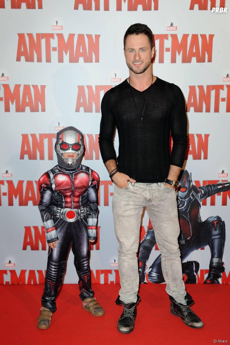 Christian Millette à l'avant-première d'Ant-Man au Grand Rex de Paris, le 9 juillet 2015