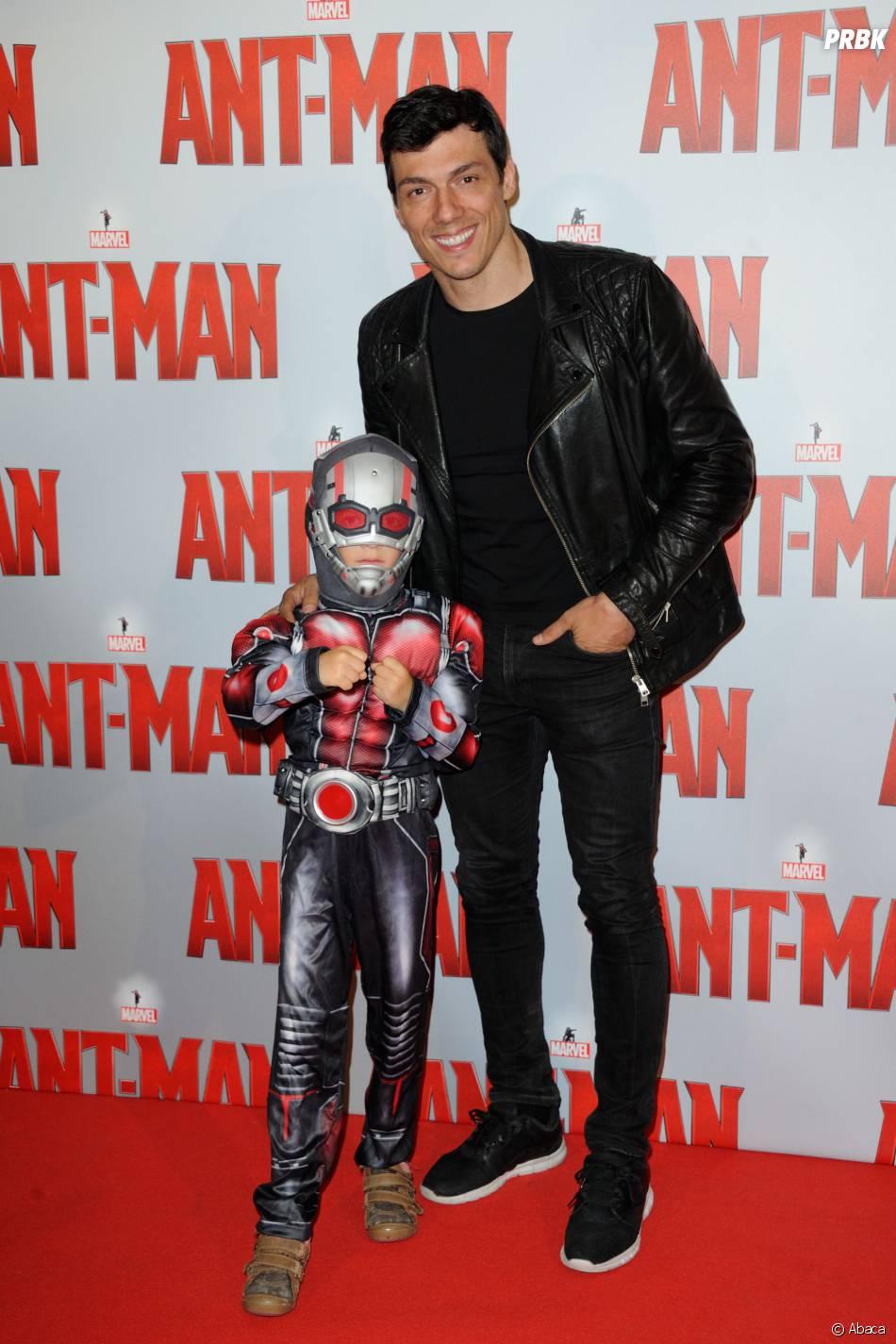 Taig Khris à l'avant-première d'Ant-Man au Grand Rex de Paris, le 9 juillet 2015