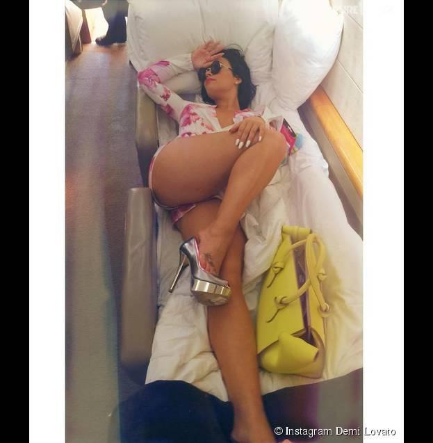 Demi Lovato fière de son corps grâce à son amoureux
