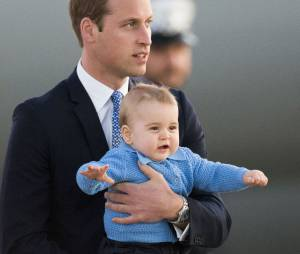 Prince George et son papa William