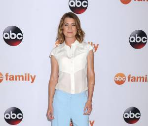 Grey's Anatomy : Ellen Pompeo alias Meredith Grey lors des ABC Television Critics Association à Los Angeles, le 4 août 2015