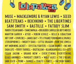 Lollapalooza Berlin 2015 : le line-up complet