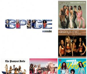 Spice Girls, The Pussycat Dolls, Destiny's Child, Little Mix... Playlist Spéciale Girls Band