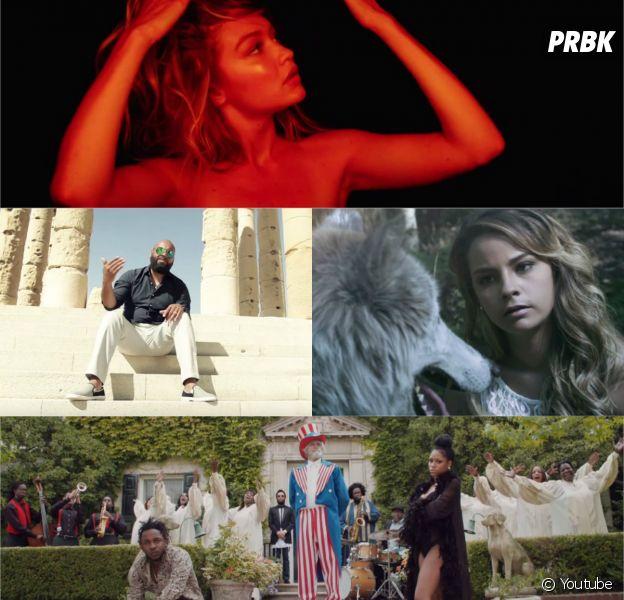 Calvin Harris, Kendrick Lamar, Sindy, Faf Larage et Sébastien Damiani dans les clips de la semaine sur Purebreak, août 2015