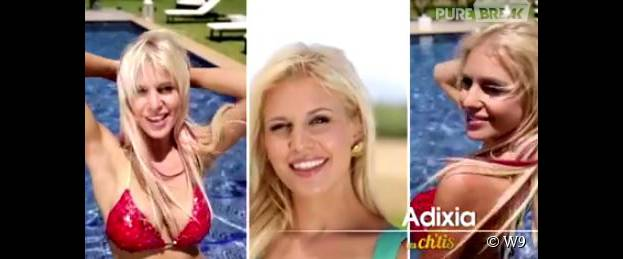Adixia sexy en bikini dans le générique des Ch'tis VS Les Marseillais, la revanche