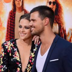 Kristen Stewart souriante : retrouvailles avec Taylor Lautner à l'avant-première d'American Ultra