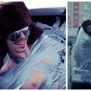 WTF : ce Russe voyage scotché SUR le coffre de sa voiture