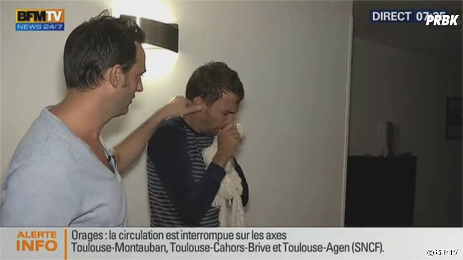 Bertrand Chameroy a piégé BFM TV en s'incrustant dans un duplex sur la rentrée des classes, le 1er septembre 2015