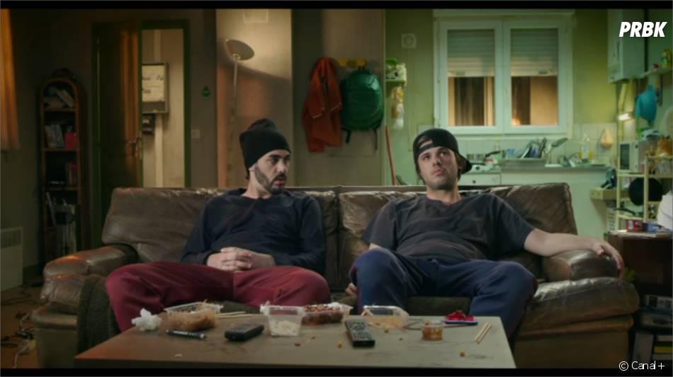"""Orelsan et Gringe """"bloqués"""" dans leur nouvelle pastille humoristique diffusée dans le Petit Journal de Canal+"""