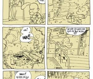 Titeuf : une planche inédite sur les réfugiés dessinée par Zep et publiée sur le blog de Zep sur Le Monde, 8 septembre 2015