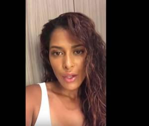 Ayem Nour soutient Angie Be en vidéo