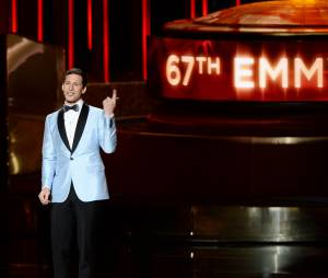 Andy Samberg pendant la cérémonie des Emmy Awards 2015, le 20 septembre 2015 à Los Angeles