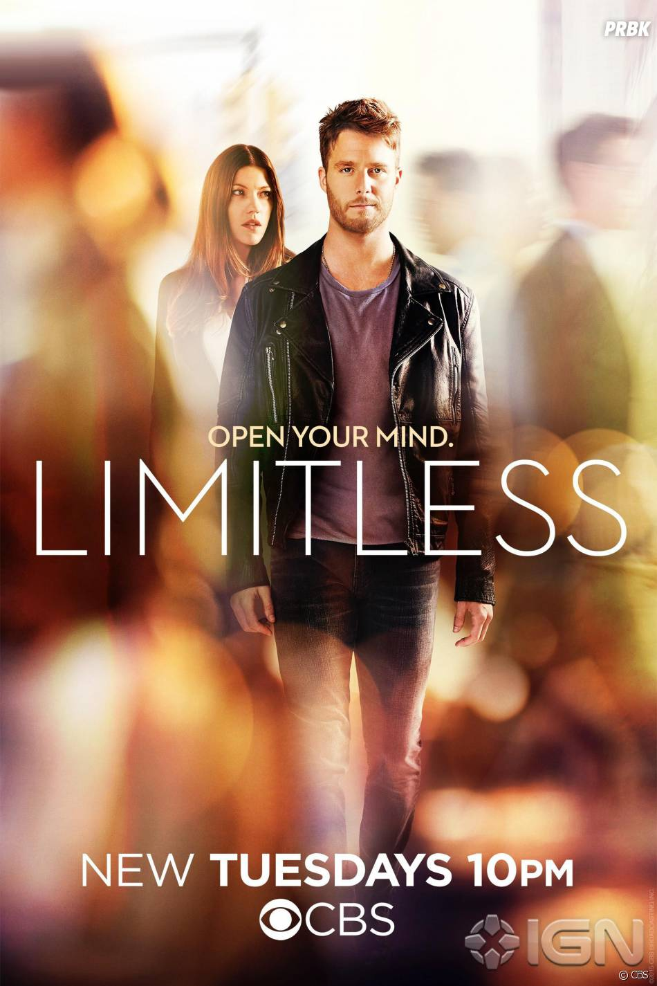 Limitless : Jennifer Carpenter et Jake McDorman sur l'affiche