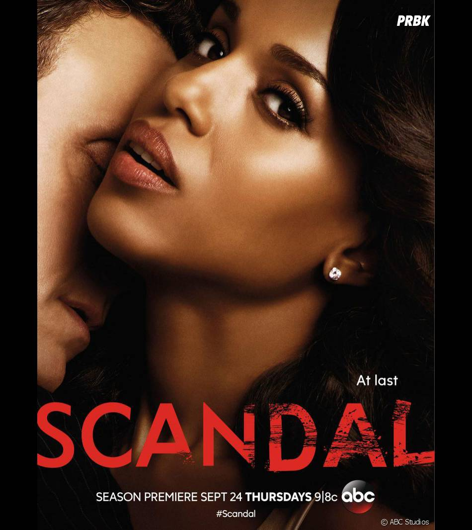 Scandal saison 5 : Olivia et Fitz sur l'affiche