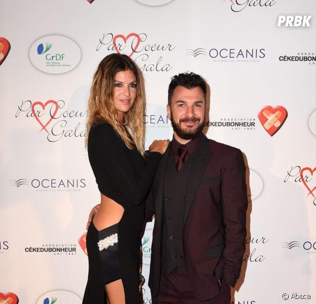 Isabelle Funaro et Michael Youn en couple au gala Par Coeur, le 24 septembre 2015