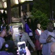 Rihanna crée une émeute devant la Tour Eiffel et panique