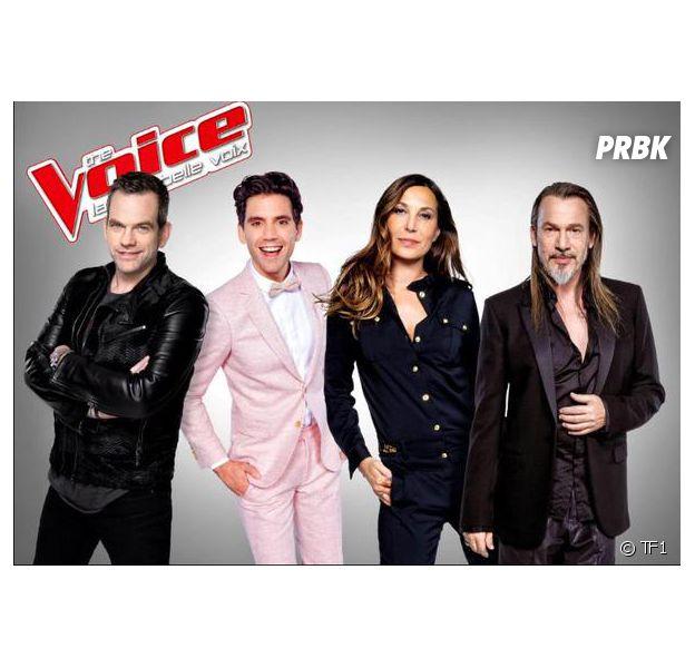 The Voice 5 : Garou, Mika, Zazie et Florent Pagny dans le jury