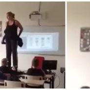 Une prof pète un câble et se déshabille en plein cours, et pourtant ce n'est pas une exhibitionniste
