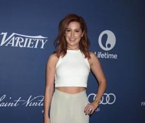 Ashley Tisdale rousse : sa nouvelle couleur dévoilée à une soirée organisée par le magazine Variety le 9 octobre 2015