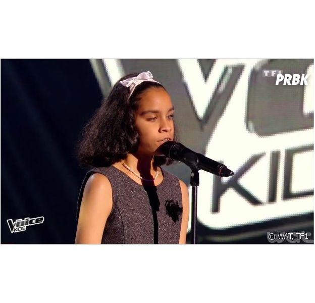 Jane (The Voice Kids) : jeune candidate aveugle dans l'équipe de Patrick Fiori sur TF1