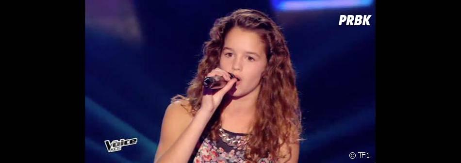 Justine (The Voice Kids) parmi les 9 finalistes de la saison 2 sur TF1