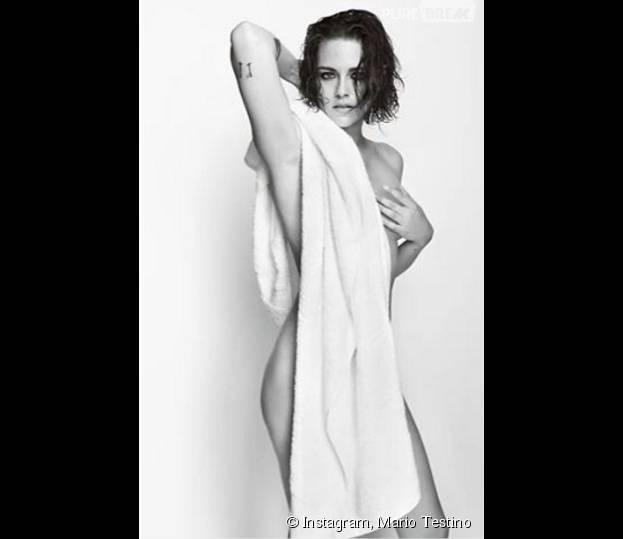 Kristen Stewart nue pour Mario Testino