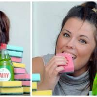 WTF : cette femme ne peut s'empêcher de manger des éponges, jusqu'à VINGT par jour