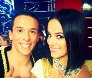 Grégoire Lyonnet et sa petite-amie Alizée pendant Danse avec les stars 4 sur TF1
