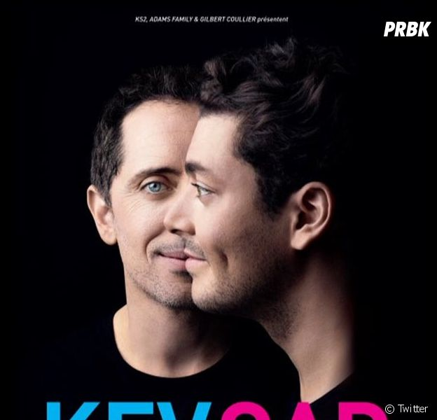 """Gad Elmaleh et Kev Adams : l'affiche de leur spectacle """"Tout est possible"""""""
