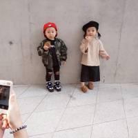 Des bébés ultra lookés sont les vraies stars de la Fashion Week de Seoul