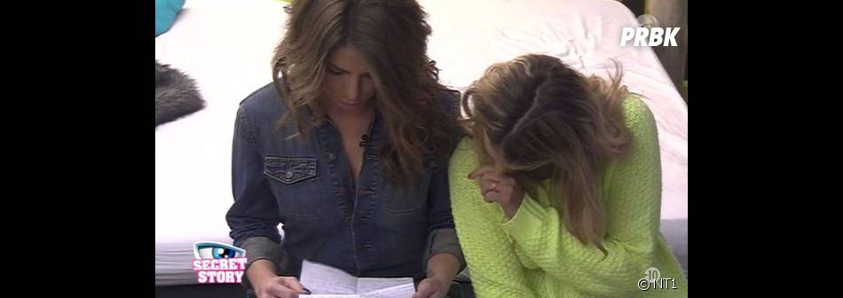 Secret Story 9 : Emilie découvre la lettre de Rémi dans la quotidienne du 29 octobre