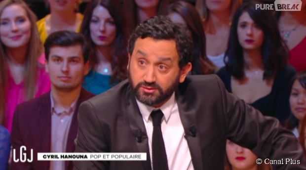 Cyril Hanouna invité du Grand Journal de Canal Plus, le 30 octobre 2015