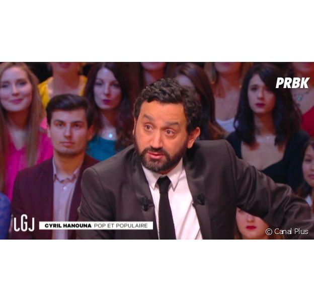 Cyril Hanouna invité du Grand Journal de Canal Plus, le 30 octobre 2015
