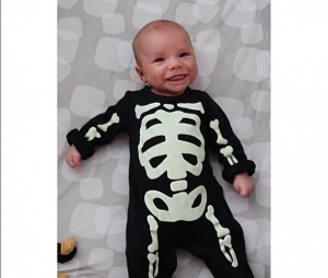 Naya Rivera : une adorable photo de son bébé Josey, le 31 octobre 2015 sur Instagram