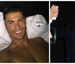 Cristiano Ronaldo tente de battre le record du monde de selfies