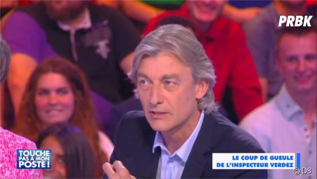 """Gilles Verdez, le """"méchant"""" chroniqueur de Cyril Hanouna dans TPMP"""