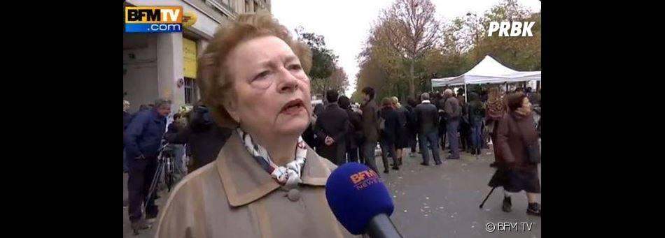 Danielle, la mamie au discourt parfait après les attentats parisiens