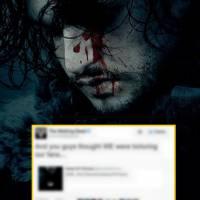 The Walking Dead : la réaction délirante de la série face à l'affiche... de Game of Thrones