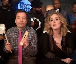 Adele : Hello, la version avec Jimmy Fallon et un xylophone
