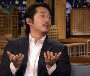 The Walking Dead saison 6 : Steven Yeun parle du terrible silence entourant le sort de Glenn