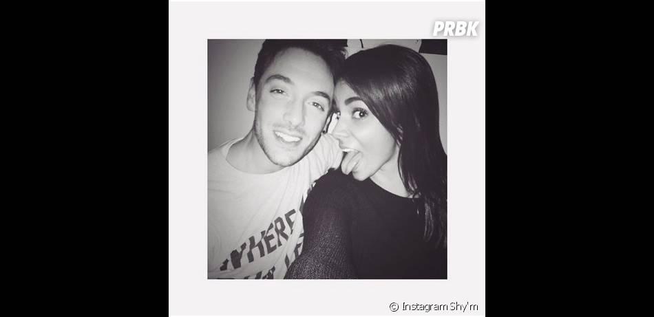 Shy'm et Maxime Dereymez : photo complice postée sur Instagram le 5 février 2015