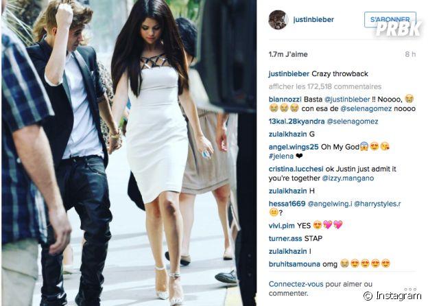 Justin Bieber toujours accro à Selena Gomez ?