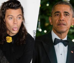 Harry Styles plus fort que Barack Obama sur Twitter