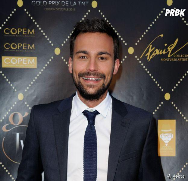 Bertrand Chameroyau prix Gold de la TNT au théâtre Bobino à Paris, le 9 juin 2015