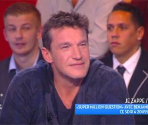 Benjamin Castaldi énervé dans TPMP pour faire la promotion de sa nouvelle émission Super Million Question